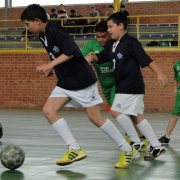 Continúa la Liga Escolar de Fútbol Sala