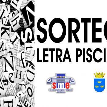 Sorteo Letra Ordenadora Actividades Dirigidas SME